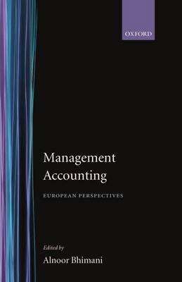 Management Accounting: European Perspectives (Hardback)