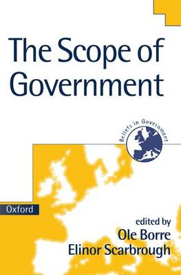 The Scope of Government - Beliefs in Government No.3 (Paperback)