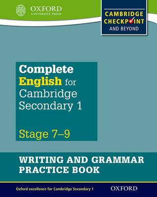 نتيجة بحث الصور عن ‪complete english for cambridge secondary one writing and grammar‬‏