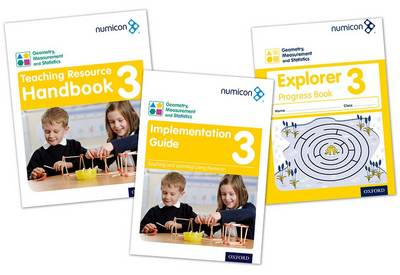 Numicon: Geometry, Measurement and Statistics 3 Easy Buy Pack (Multiple copy pack)