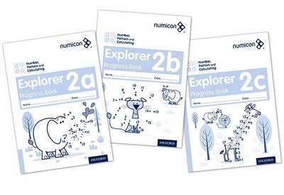 Numicon: Number, Pattern and Calculating 2 Explorer Progress Books ABC (Mixed pack): 2 (Multiple copy pack)