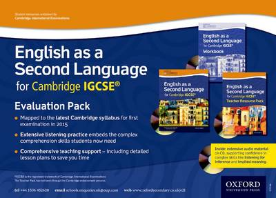 English as a Second Language for Cambridge IGCSE: Evaluation Pack (Mixed media product)