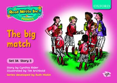 Read Write Inc. Phonics: Storybooks Set 3A (Pink): School Pack of 50 (10 Books of Each Title) (Multiple copy pack)