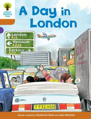 Oxford Reading Tree: Level 8: Stories: a Day in London (Paperback)