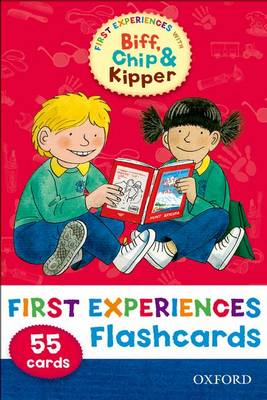 Oxford Reading Tree: Read with Biff, Chip & Kipper First Experiences Flashcards (Cards)