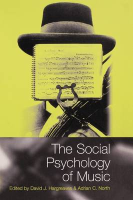 The Social Psychology of Music (Paperback)