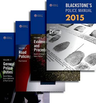 Blackstone's Police Manuals 2015 - Blackstone's Police Manuals (Multiple copy pack)