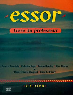 Essor: Teacher's Book (Paperback)
