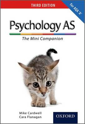 The Complete Companions: AS Mini Companion for AQA A Psychology (Paperback)