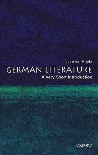 German Literature: A Very Short Introduction - Very Short Introductions (Paperback)