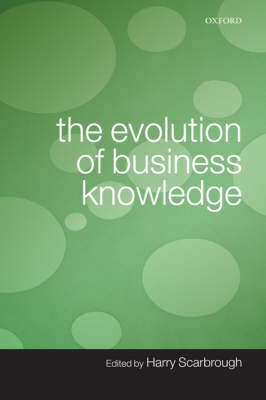 The Evolution of Business Knowledge (Paperback)