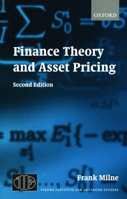 Finance Theory and Asset Pricing (Paperback)