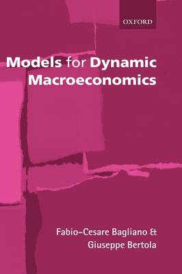 Models for Dynamic Macroeconomics (Hardback)