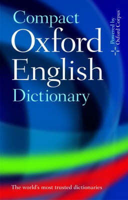 Compact Oxford English Dictionary of Current English (Hardback)