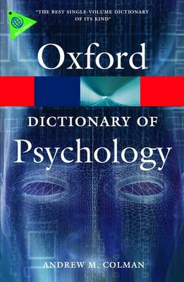 A Dictionary of Psychology - Oxford Paperback Reference (Paperback)