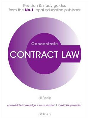 Contract Law Concentrate: Law Revision and Study Guide - Concentrate (Paperback)