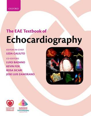 The EAE Textbook of Echocardiography - The European Society of Cardiology Textbooks (Hardback)