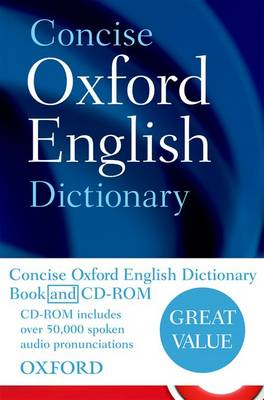 Concise Oxford English Dictionary (Mixed media product)