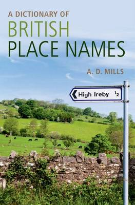 A Dictionary of British Place-names (Paperback)