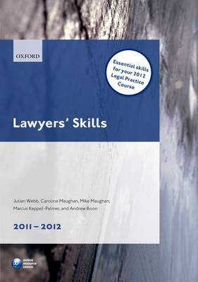 Lawyers' Skills 2011-2012 - Legal Practice Course Guide (Paperback)