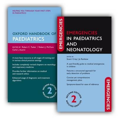 Oxford Handbook of Paediatrics and Emergencies in Paediatrics and Neonatology Pack - Emergencies in... (Multiple copy pack)