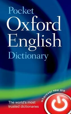 Pocket Oxford English Dictionary (Hardback)
