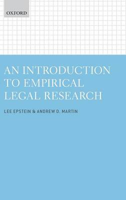 An Introduction to Empirical Legal Research (Hardback)