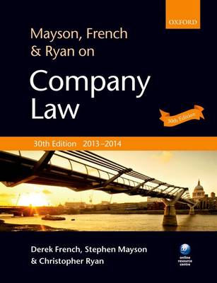 Mayson, French & Ryan on Company Law (Paperback)