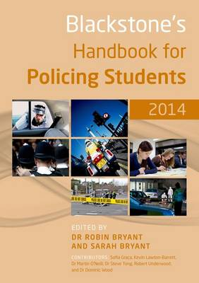Blackstone's Handbook for Policing Students 2014 (Paperback)