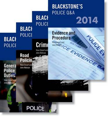 Blackstone's Police Q&A: Four Volume Pack 2014 - Blackstone's Police Manuals (Paperback)