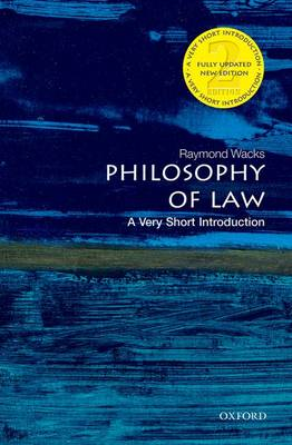 Philosophy of Law: A Very Short Introduction - Very Short Introductions (Paperback)
