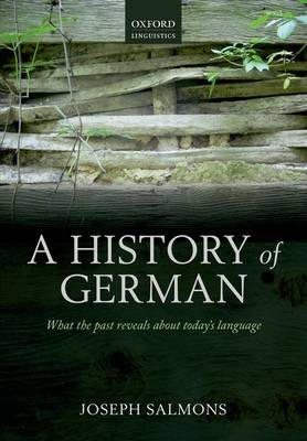 A History of German (Paperback)