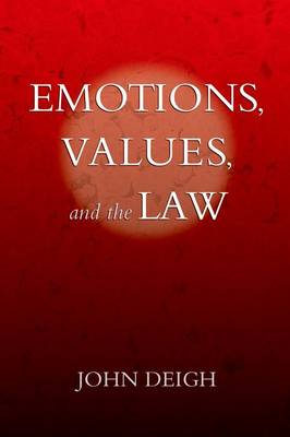 Emotions, Values, and the Law (Paperback)