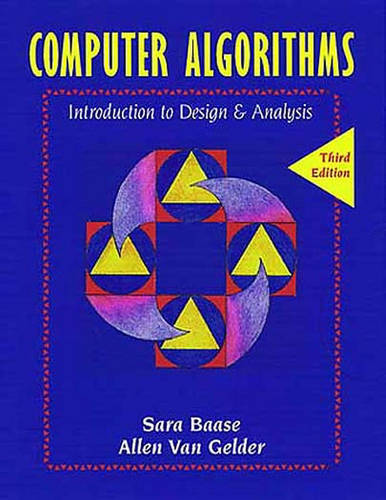 Computer Algorithms: Introduction to Design and Analysis (Hardback)