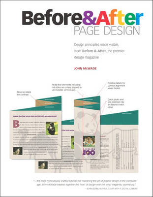 Before and After Page Design (Paperback)
