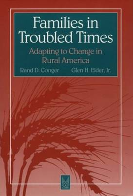 Families in Troubled Times: Adapting to Change in Rural America - Social institutions & social change (Hardback)