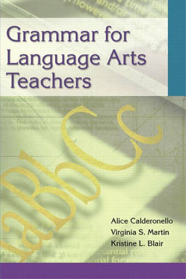 Grammar for Language Arts Teachers (Paperback)