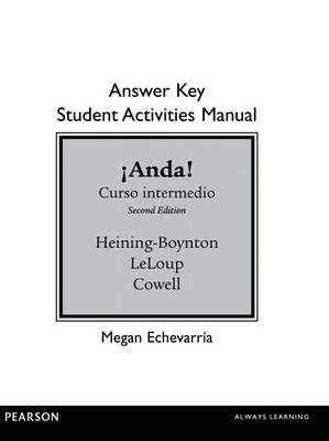 SAM Answer Key for Anda! Curso Intermedio (Paperback)
