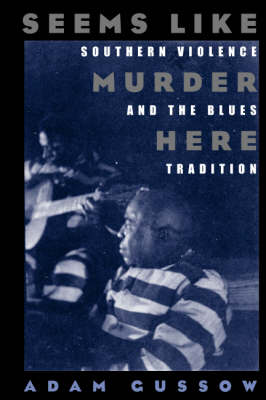 Seems Like Murder Here: Southern Violence and the Blues Tradition (Paperback)