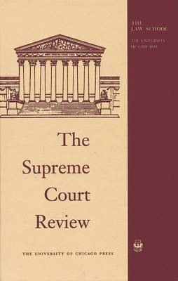 The Supreme Court Review 1979 - Supreme Court Review (Hardback)