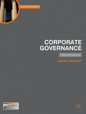 Corporate Governance: Theory and Practice (Paperback)