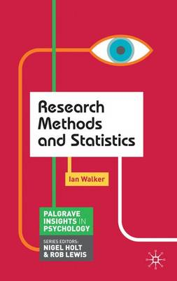 Research Methods and Statistics - Palgrave Insights in Psychology Series (Paperback)
