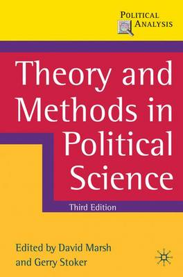 Theory and Methods in Political Science - Political Analysis (Paperback)