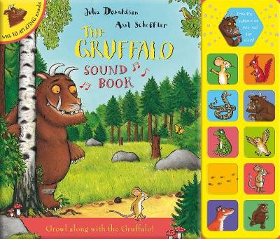 The Gruffalo Sound Book (Novelty book)