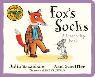 Tales from Acorn Wood: Fox's Socks (Board book)