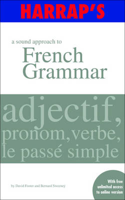 A Sound Approach to French Grammar (Paperback)
