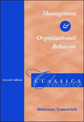 Management and Organizational Behaviour Classics (Paperback)