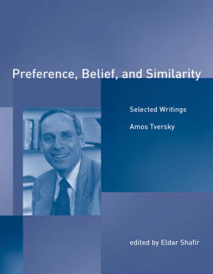 Preference, Belief, and Similarity: Selected Writings - Bradford Books (Paperback)