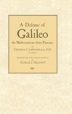 A Defense of Galileo: The Mathematician from Florence (Hardback)