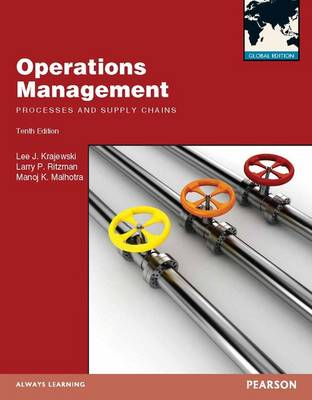 Operations Managment, Plus MyOMLab with Pearson Etext (Mixed media product)